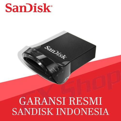 Foto Produk SanDisk Ultra Fit USB 3.1 16GB 130MBps CZ430 dari cxshop