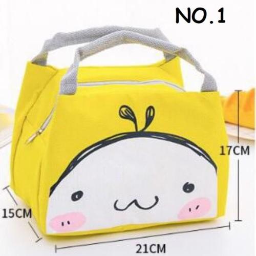 Foto Produk Lunch bag animal / tas bekal anak/ tas bekal tahan panas dari supplier beauty