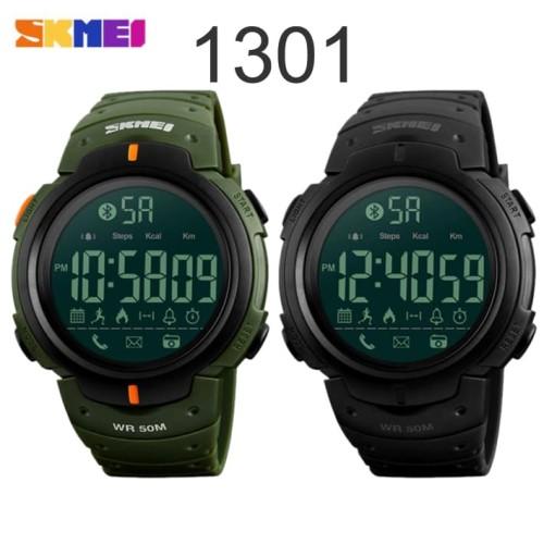 Foto Produk Smart Watch SKMEI 1301 Bluetooth Pedometer Waterproof 50M - Hijau dari ParagonJaya