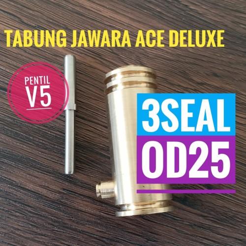 Foto Produk Tabung Jawara Ace Deluxe OD25 - Kuningan dari herychrist789