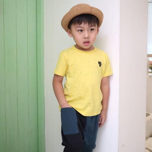 Foto Produk Kaos Polos Anak - Anak Kuning | L053 Galaxy Basic Tee by Little Jergio - Small dari Little Jergio