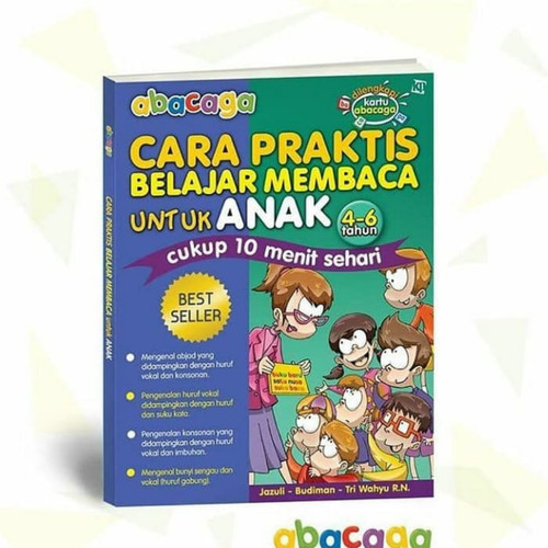 Foto Produk Abacaga;Cara Praktis Belajar Membaca untuk Anak dari Az Bookstore