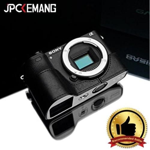 Foto Produk Gariz Leather Case for Sony A6500 XS-CHA6500 - Hitam dari JPCKemang