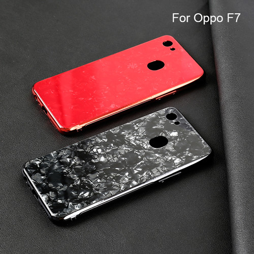 Foto Produk Oppo F7 Shiny Shell Diamond Glass Hard Case dari importking
