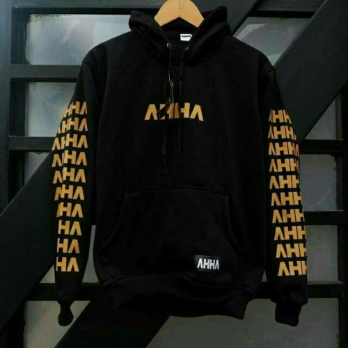 Jual Jaket Hoodie Ahha Hustle Gold Sweater Atta Halilintar Triple Hustle Gold L Kota Bandung Bandungbigs Fashion Tokopedia