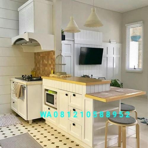 Jual Kitchen Island Meja Dapur Mini Bar Meja Dapur Home Decor Kab Jepara Gagah90 Tokopedia