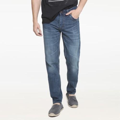 Foto Produk 2Nd RED Relax Jeans Comfort Model Standart Warna Abu Tua 121813 - Abu-abu, 31 dari 2nd RED Jeans