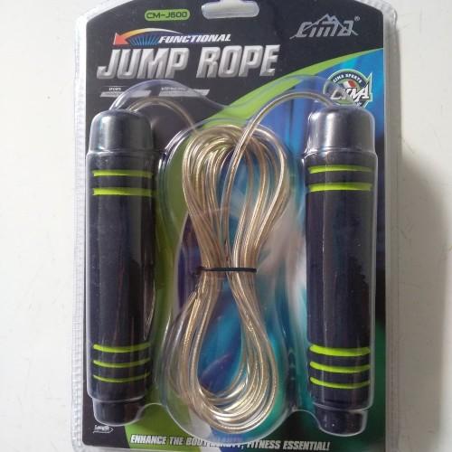 Foto Produk TALI SKIPING JUMP ROPE PEMBERAT CIMA J600 dari Sen-Store