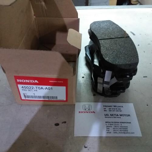 Foto Produk Kampas Rem brake pad Depan Honda CRV 2007-2016 RE RM gen 3 4 original dari Setia Motor (SM)