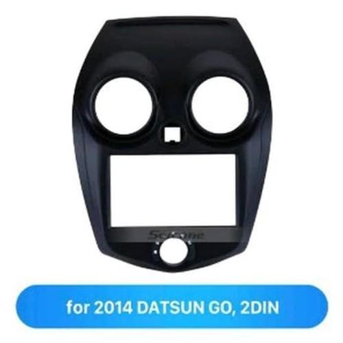Foto Produk Frame Panel Tape Double Din Headunit Datsun Go Panca dari Audio Perdana