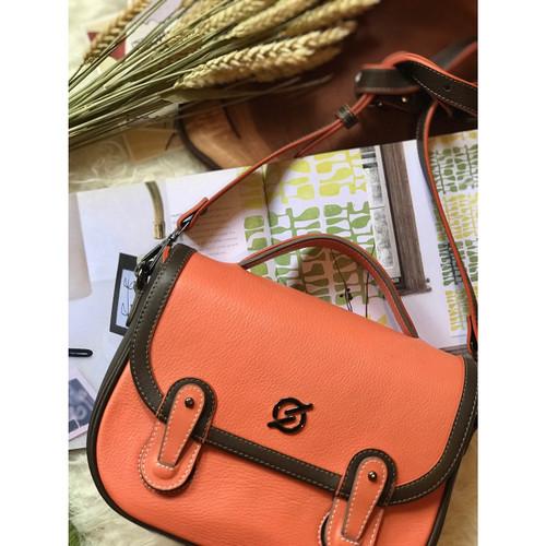Foto Produk SLING BAG : KINAR PEACH (PREORDER) dari sewstories