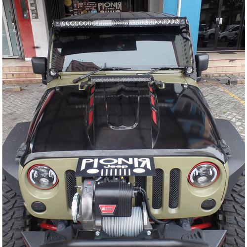 Foto Produk Kap Mesin Jeep Wrangler JK Rubicon Avenger dari PIONIR JEEP
