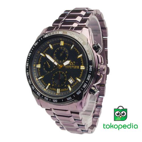 Foto Produk Jam Tangan pria Mirage sporty rantai terbaru coklat 8305M dari Mirage Watch