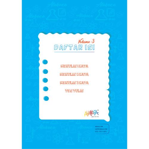 Foto Produk Buku Modul Calistung Anak PAUD, TK, SD dan Bimbel (Tulis Vol. 3) dari e - Pedia