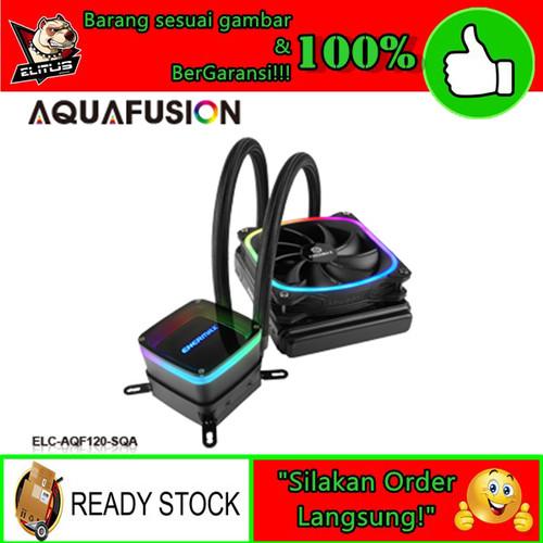 Foto Produk CPU Liquid Cooler Enermax ELC-AQF120-SQA Aquafusion AIO 120mm dari ELITUS GAMING