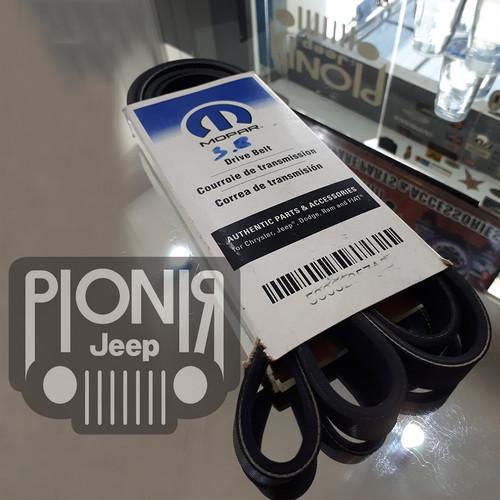 Foto Produk Tali Kipas JK 3.8L / Fan Belt Mopar For Jeep JK 3.8cc Ori USA dari PIONIR JEEP
