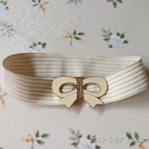 Foto Produk Korean Bow Belt - Beige dari FleurDepees FashionHouse