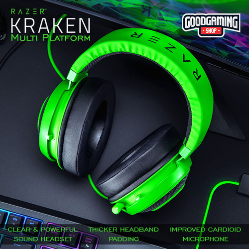 Foto Produk Razer Kraken - Multi-Platform Wired Gaming Headset - Hijau dari GOODGAMINGM2M