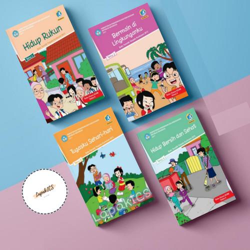 Foto Produk Paket Buku SD Kelas 2 Tematik Semester 1 Revisi 2017-2018 dari Hijau TuppyOn