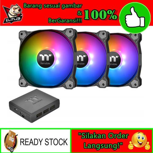Foto Produk Thermaltake Pure Plus 12 RGB Radiator Fan 3 Pack Fan Casing dari ELITUS GAMING
