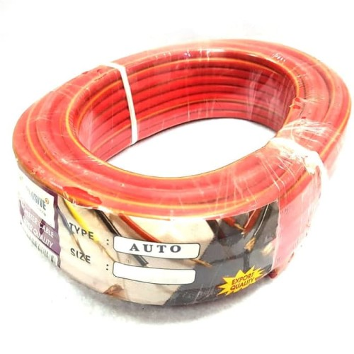 Foto Produk Kabel Setrum 6 mm panjang 20meter - Merah dari Suskes Jaya Group