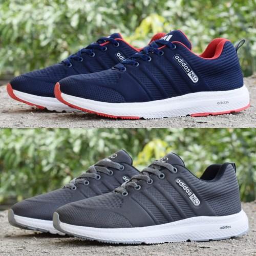 Foto Produk Sepatu Olahraga Sneakers Running Jogging Pria Casual Adidas Cloudfoam dari Bandung Footwear Store