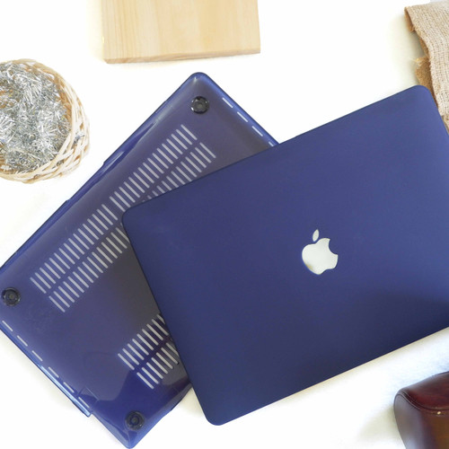 Foto Produk Case macbook New Air 11 12 Air 13 Pro 13 Retina 13 Matte DARKBLUE - AIR 11 dari Macbook.Stuff