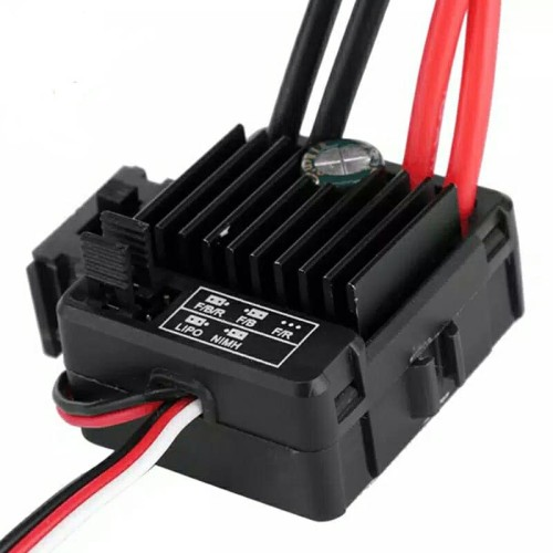 Foto Produk Esc Brushed quicrun wp 1060 model Hobbywing 60a dari rizky cell