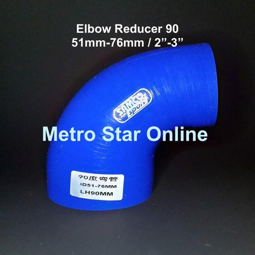 """Foto Produk Samco Elbow Reducer 90 / 2"""" - 3"""" dari Metro Star Online"""