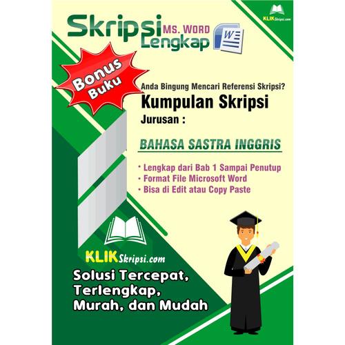 Jual Skripsi Bahasa Sastra Inggris Plus Link Download Kab Purworejo E Media Tokopedia