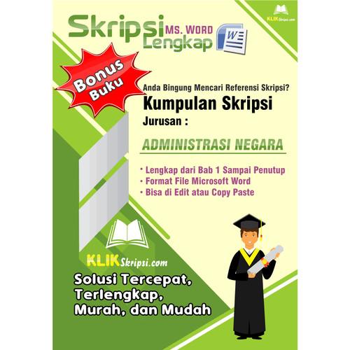 Jual Skripsi Administrasi Negara Plus Link Download Kab Purworejo Emediapro Tokopedia