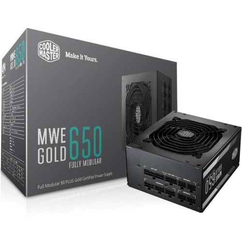Foto Produk Power Supply - PSU Cooler Master MWE Gold 650 80+ gold full modular dari Blessing Computer Bali