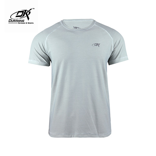 Foto Produk Running Jersey - DK Basic Color Tee Man Light Blue - XL dari Duraking Outdoor&Sports