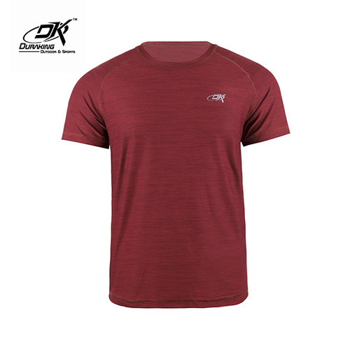 Foto Produk Running Jersey - DK Basic Color Tee Man Maroon - L dari Duraking Outdoor&Sports
