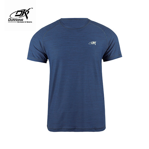 Foto Produk Running Jersey - DK Basic Color Tee Man Navy - S dari Duraking Outdoor&Sports