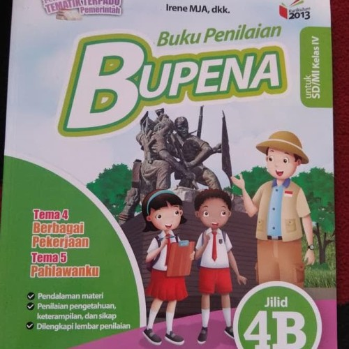 Foto Produk BUPENA KELAS 4B SD ERLANGGA dari Yenni Tedjokoesoemo Shop