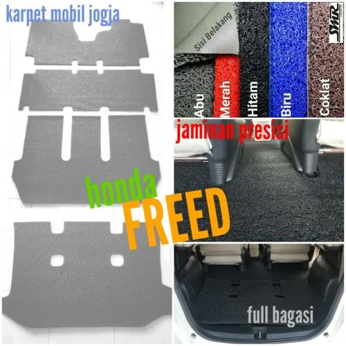 Foto Produk Karpet Mie Bihun Mobil Honda Freed Full Bagasi dari SMR Karpet Mobil Jogja