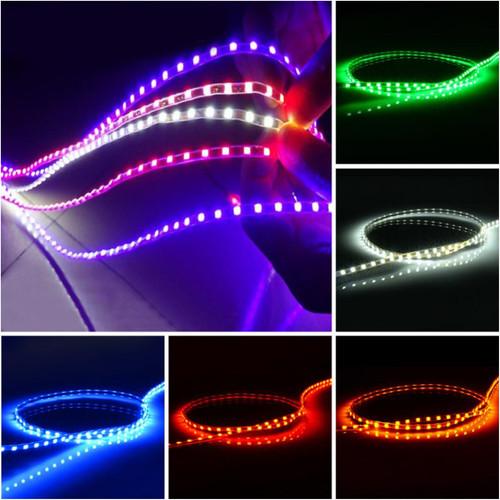 Foto Produk LED STRIP ALIS CUMI 45 CM WATERPROOF FLEXIBLE SUPER BRIGHT - Biru Muda dari Modifikasi Market