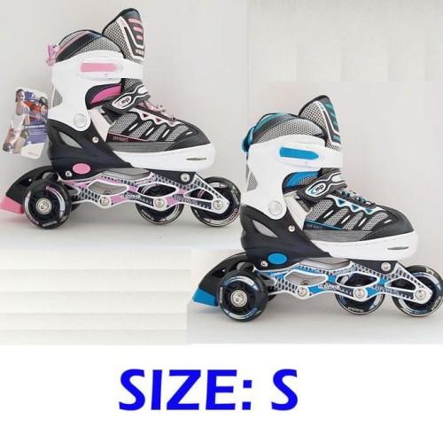 Foto Produk Terlaku Sepatu Roda Bajaj Ban Karet / Inline Skate Pu Wheels Anak Dan dari kamaluddinahmad