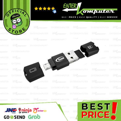 Foto Produk Team M141 USB Card Reader OTG dari Enter Komputer Official