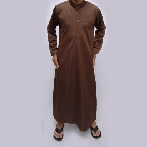 Foto Produk Paling Murah Jubah Saudi - Gamis Pria - Baju Muslim Koleksi Farrasi dari Wan Faulia Nazmi
