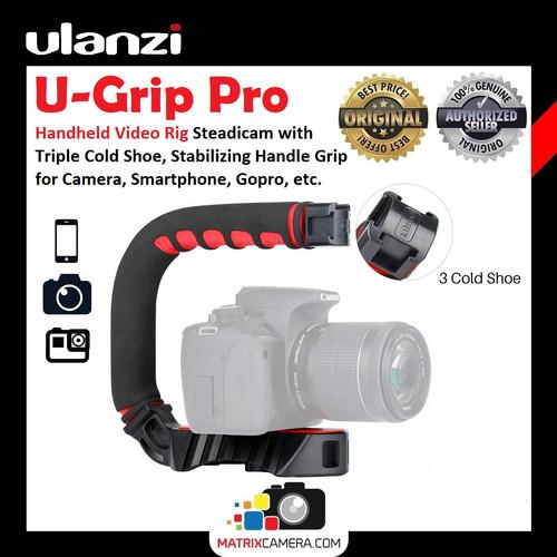 Foto Produk Ulanzi U-Grip Pro Smartphone Camera Gopro Video Rig Stabilizer Grip dari MatrixCamera