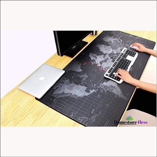 Foto Produk Taplak Meja Tatakan Mouse Pad Raksasa Matras Peta Dunia Ukuran Besar dari lbagstore