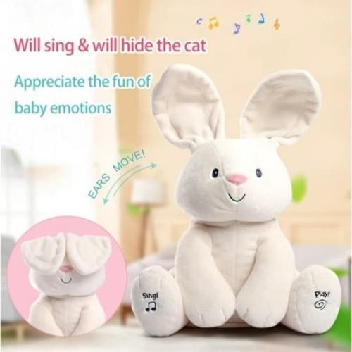 Foto Produk Mainan anak Boneka kelinci peek a booo dari AUTO KID II