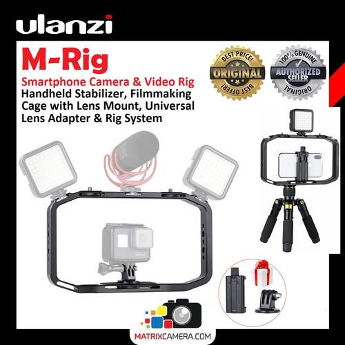 Foto Produk Ulanzi M-Rig Smartphone Phone Camera Video Rig Stabilizer Grip dari MatrixCamera