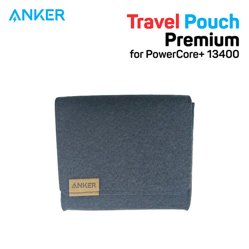 Foto Produk Pouch PowerBank Anker for PowerCore+ 13400 Brown - A7097 dari Anker Indonesia