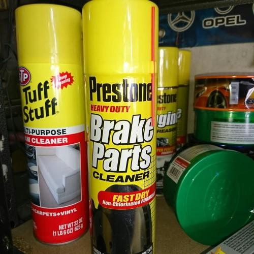 Foto Produk Prestone Brake Parts Cleaner Fast Dry pembersih cakram disc kampas rem dari Battery Accu Aki Bandung