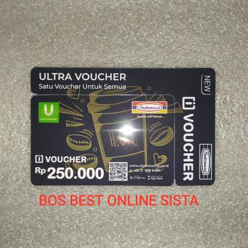 Foto Produk voucher indomaret 250000 platinum dari BOS best online sista