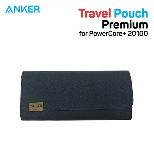 Foto Produk Pouch PowerBank Anker for PowerCore+ 20100 Brown - A7098 dari Anker Indonesia