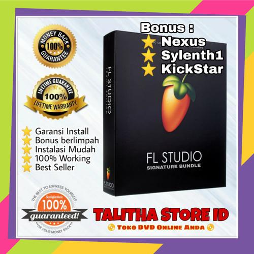 Foto Produk DVD FL Studio 20 Signature Bundle (Bisa di install di banyak PC) dari Talitha Store ID